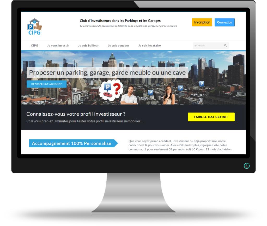 Projet site communautaire pour une association