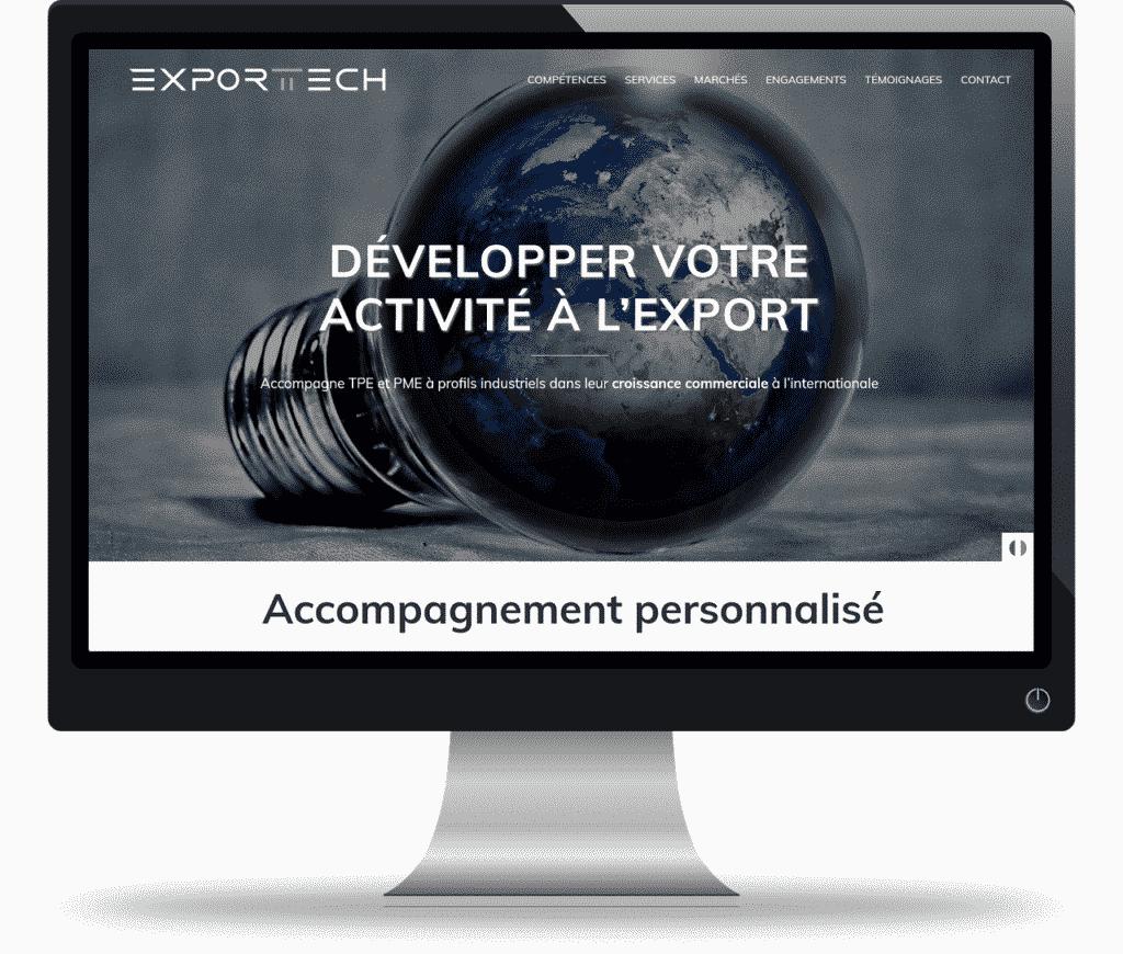 Projet site onepage pour un freelance