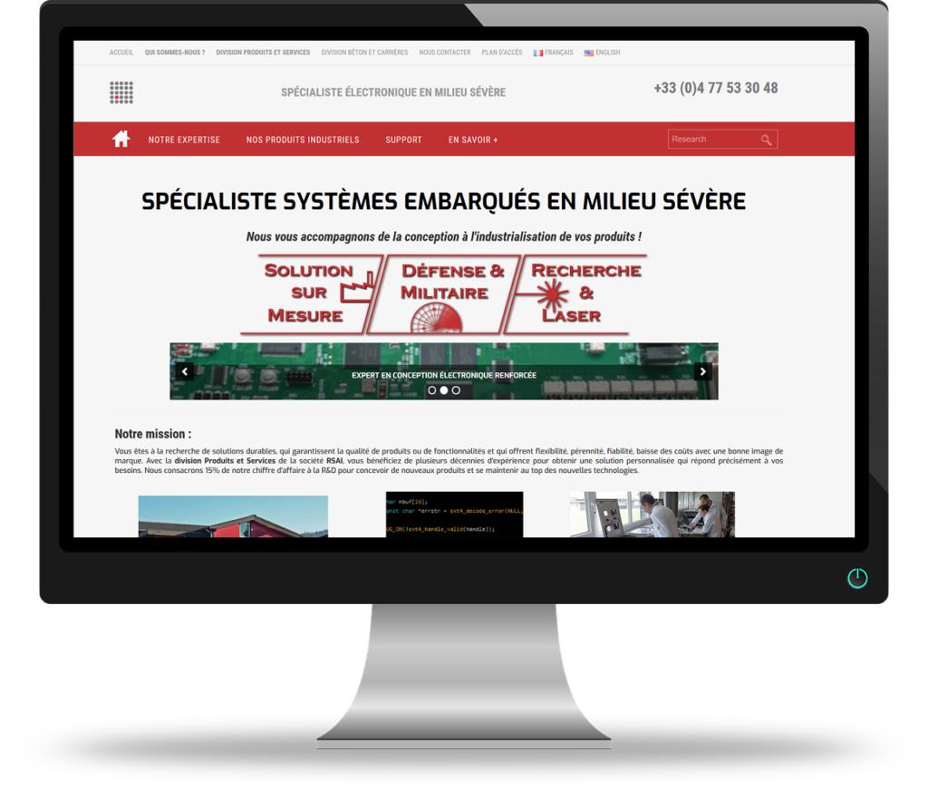 Projet site vitrine et portail entreprise PME